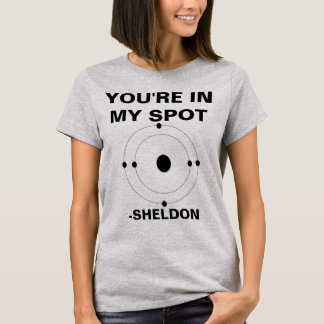 Your'e em minha camisa de Sheldon do ponto