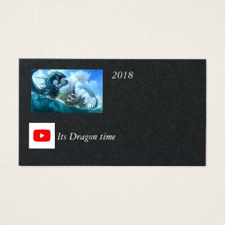 YOUTUBE seu cartão de tempo do dragão