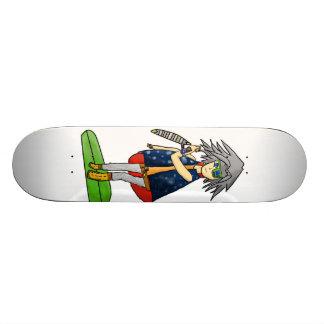 yu-soldado-oh skate da arte do fã