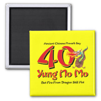 Yung nenhum aniversário de 40 anos do Mo Ima De Geladeira