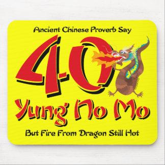 Yung nenhum aniversário de 40 anos do Mo Mouse Pad