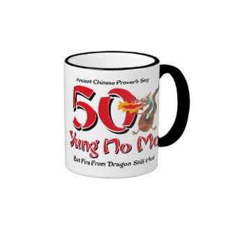 Yung nenhum aniversário do Mo 50th Canecas