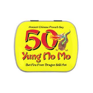 Yung nenhum aniversário do Mo 50th Latinhas Para Personalizar