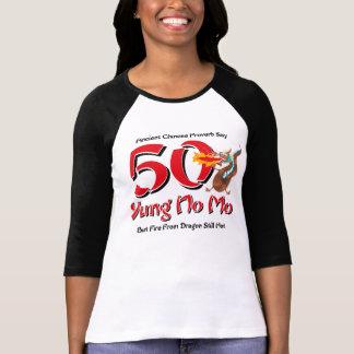 Yung nenhum aniversário do Mo 50th T-shirt