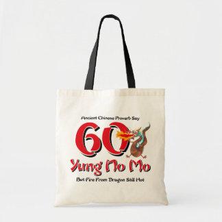 Yung nenhum aniversário do Mo 60th Bolsa Para Compras
