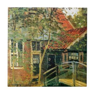 Zaandam, pouca ponte por Claude Monet