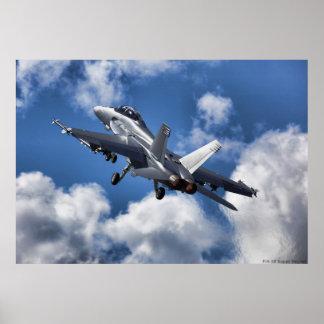 Zangão F/A-18 super Pôster