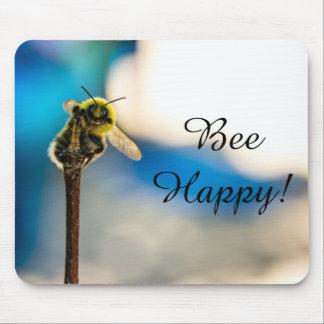 Zangão feliz Mousepad da abelha