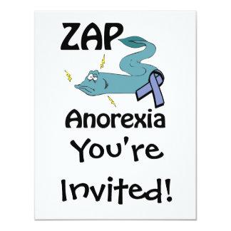 ZAP a anorexia Convites Personalizado