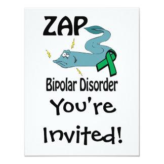 ZAP a doença bipolar Convite Personalizados