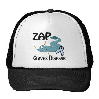 ZAP a doença de sepulturas Boné