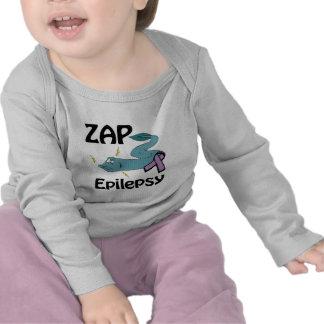 ZAP a epilepsia Camisetas