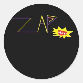 ZAP a etiqueta clássica Adesivo