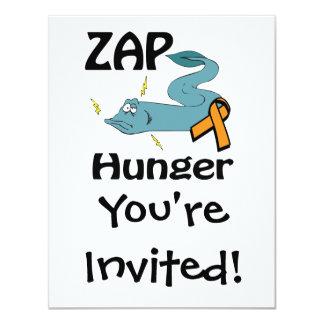 ZAP a fome Convite