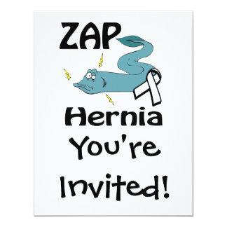 ZAP a hérnia Convite