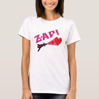 Zap corações camiseta
