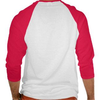 Zap me T vermelho do Raglan dos homens do bebê no Camiseta