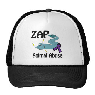 ZAP o abuso animal Boné