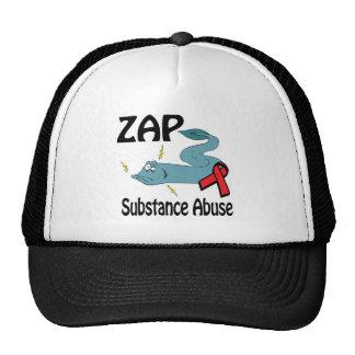 ZAP o abuso de substâncias Boné