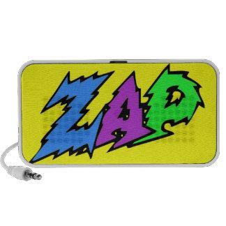 ZAP o amarelo do auto-falante Caixinhas De Som Para iPhone