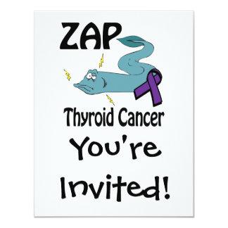 ZAP o cancer de tiróide Convites Personalizado