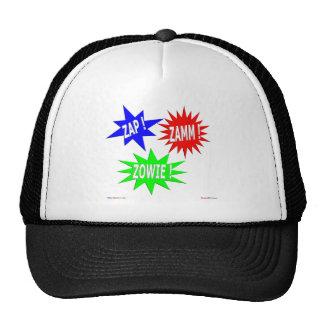 Zap o chapéu de Zamm Zowie Bonés