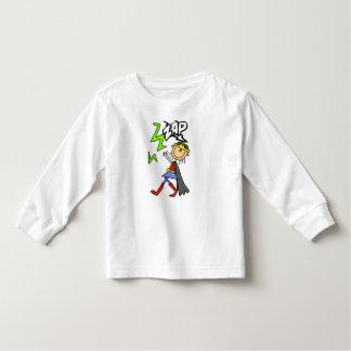 ZAP o herói da menina T-shirt