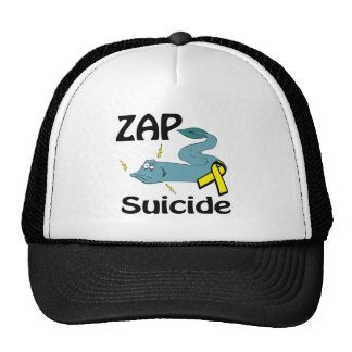 ZAP o suicídio Bonés