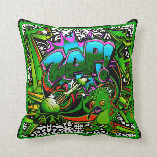 Zap o travesseiro decorativo estrangeiro verde almofada