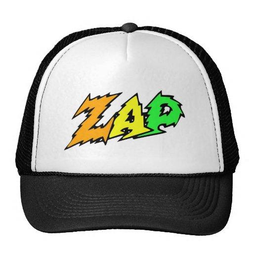 ZAP o verde, o amarelo e a laranja do chapéu Bones