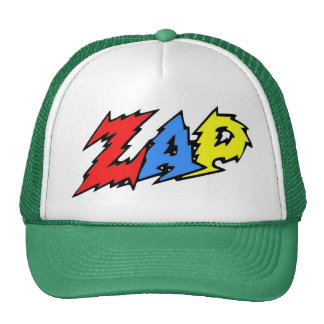 ZAP o vermelho, o amarelo e o azul do chapéu Bone