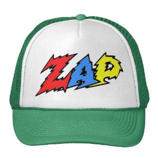 ZAP o vermelho, o amarelo e o azul do chapéu Boné
