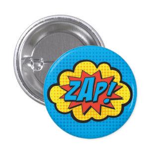 ZAP! PC do Pin do super-herói Bóton Redondo 2.54cm