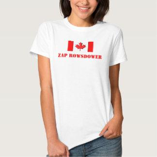 Zap Rowsdower Camisetas