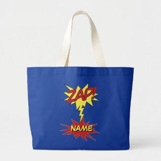 ZAP! saco feito sob encomenda - escolha o estilo & Sacola Tote Jumbo