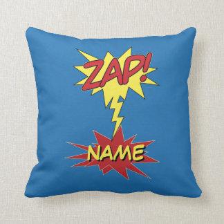 ZAP! travesseiro decorativo feito sob encomenda