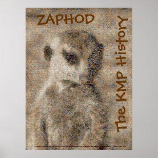 Zaphod - o poster da história de KMP