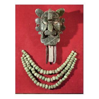 Zapotec peitoral o formulário da representação da  cartoes postais