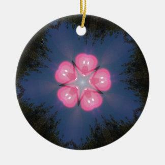 Zaz10 Ornamento De Cerâmica Redondo