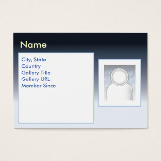 Zazzle escuro - carnudo cartão de visitas