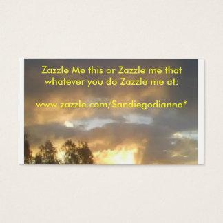 zazzle mim isto cartão de visitas