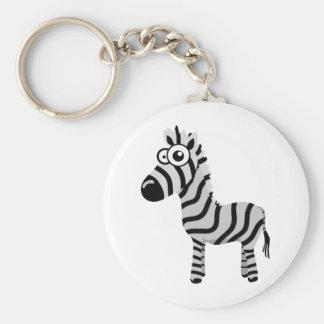 Zebra bonito chaveiro