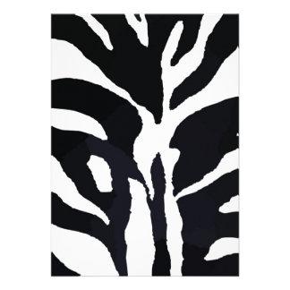 Zebra Convite Personalizados