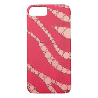 Zebra cor-de-rosa fluorescente de Tan Capa iPhone 7