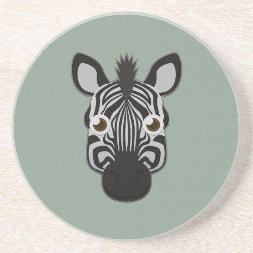 Zebra de papel porta-copo