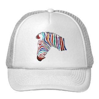 Zebra elétrica bonés