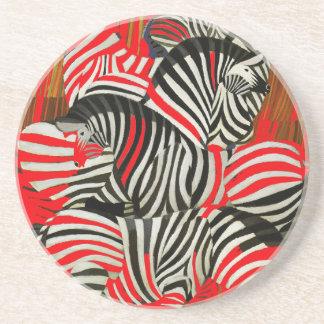 Zebras vermelhas