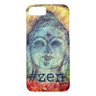 #Zen a capa de telefone da arte da aguarela de