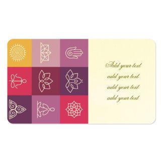 zen, chakra, ioga, paz, ohm, tranquilty, lótus, cartão de visita