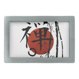 Zen do Kanji com Enso e bambu